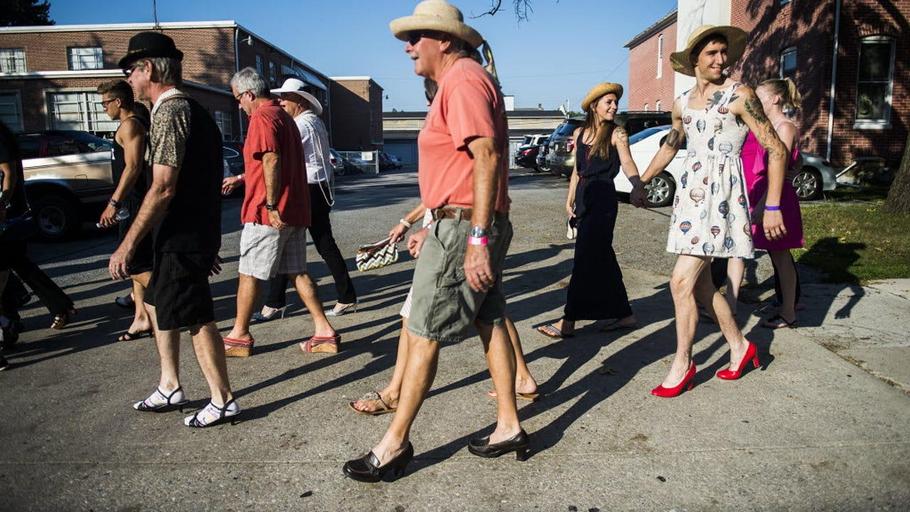 2015 Walk a Mile in Her Shoes in Hanover