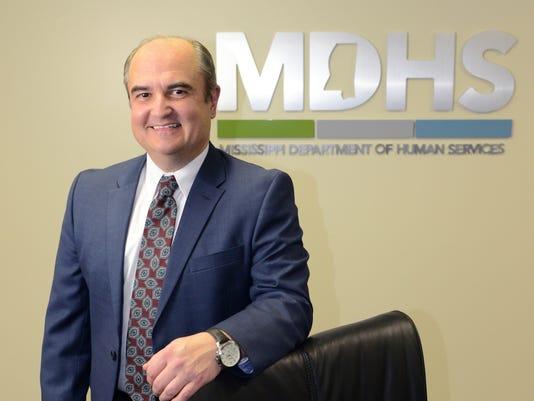 Mississippi Department of Human Services Executive Director John Davis.