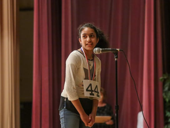 Gauri Vashisht, a sixth-grader at West Ridge Middle