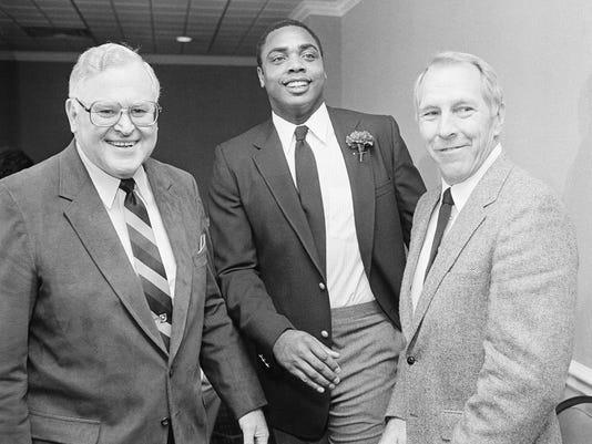 Dave Parker, Vern Rapp, Bob Howsam