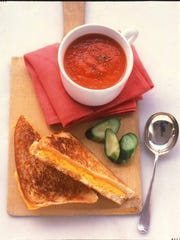 The key to making the perfect grilled-cheese sandwich is choosing the right ingredients.