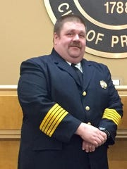 Ralph Hammonds has resigned as Sharonville fire chief after a prostitution scandal.