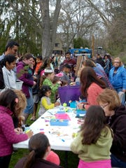 Great weather and lots to do attracted a huge crowd at last year's Heritage Park Earth Day celebration.