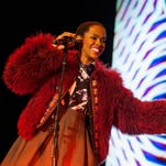 Lauryn Hill in concert in New Orleans in Novvember 2014.
