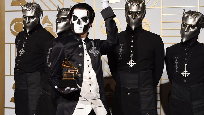 Swedish metal band Ghost, which won a Grammy earlier this year, will play July 31 at the Watering Hole in Howard.