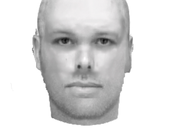 Police released a composite sketch of the man wanted