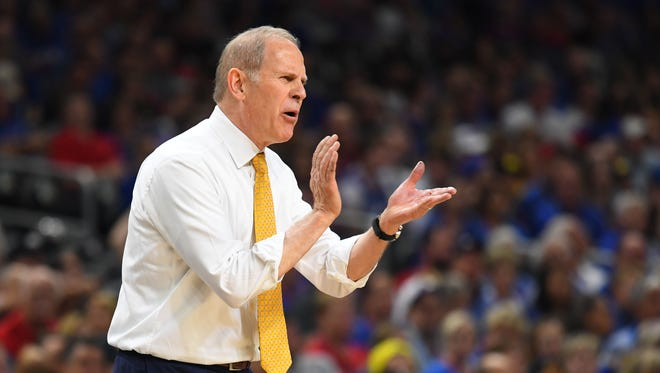 Michigan Wolverines head coach John Beilein, age 65. Interviewed with Pistons on May 31. Has 541-318 record as college head coach in 26 seasons.