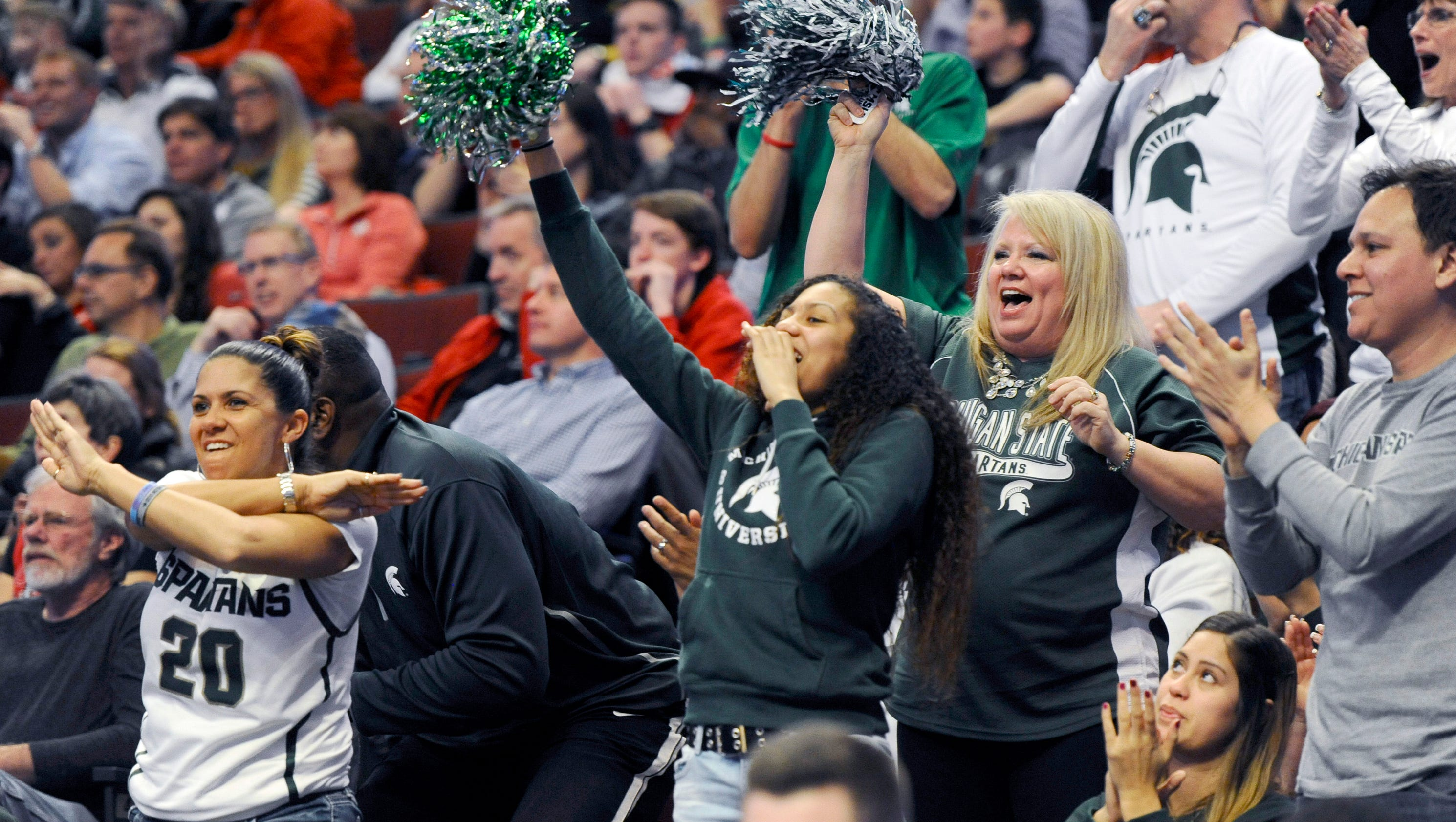 MSU basketball parents log miles for memories with Spartan sons