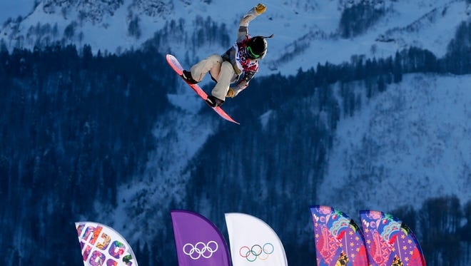 Team USA's Jessika Jenson during women slopestyle qualification Thursday at the Sochi Games.