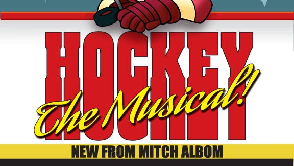 hockey the musical insider mitch albom