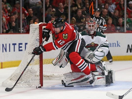 NHL Blackhawks Wild Game 5 2014
