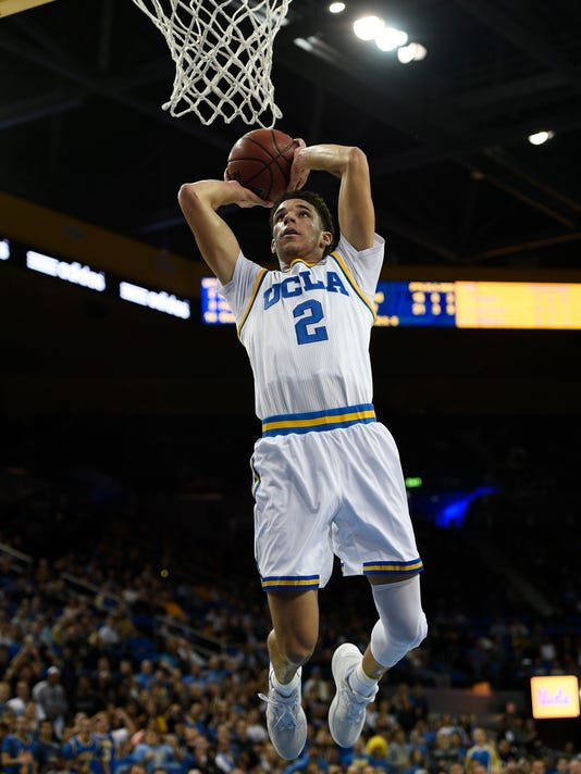 USP NCAA BASKETBALL: LONG BEACH STATE AT UCLA S BKC USA CA