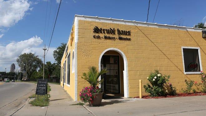 The Strudl Haus in Des Moines.