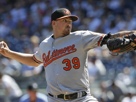 The Baltimore Orioles have traded veteran pitcher Kevin Gausman. AP FILE PHOTO