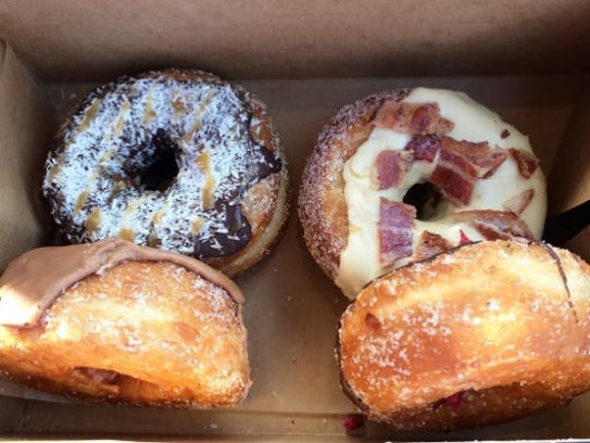 "Five Daughters Bakery has an online ""DonutCam"" so customers"