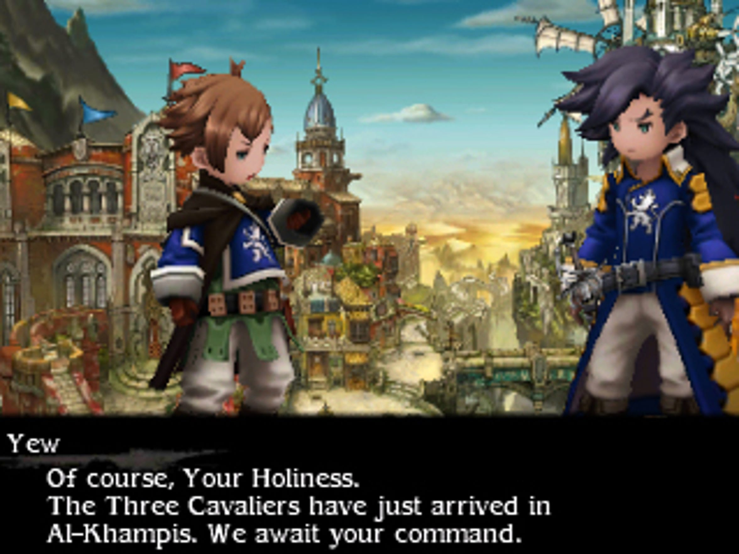 Yew of the Three Cavaliers is a new protagonist in