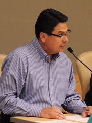 Finance Director and Interim City Manager Gil Polanco.