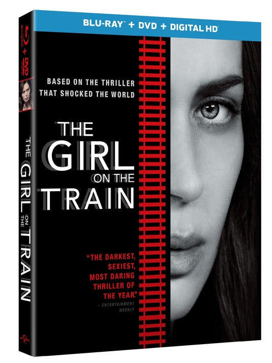 Girl on a Train' tops new DVD releases