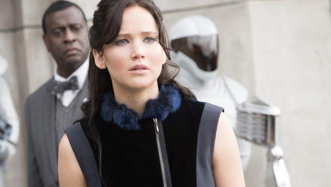 'The Hunger Games: Catching Fire' stars Oscar-winner Jennifer Lawrence as Katniss Everdeen.