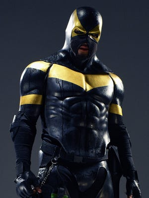 "MMA fighter-crimefighter Ben Fodor (""Phoenix Jones"")."