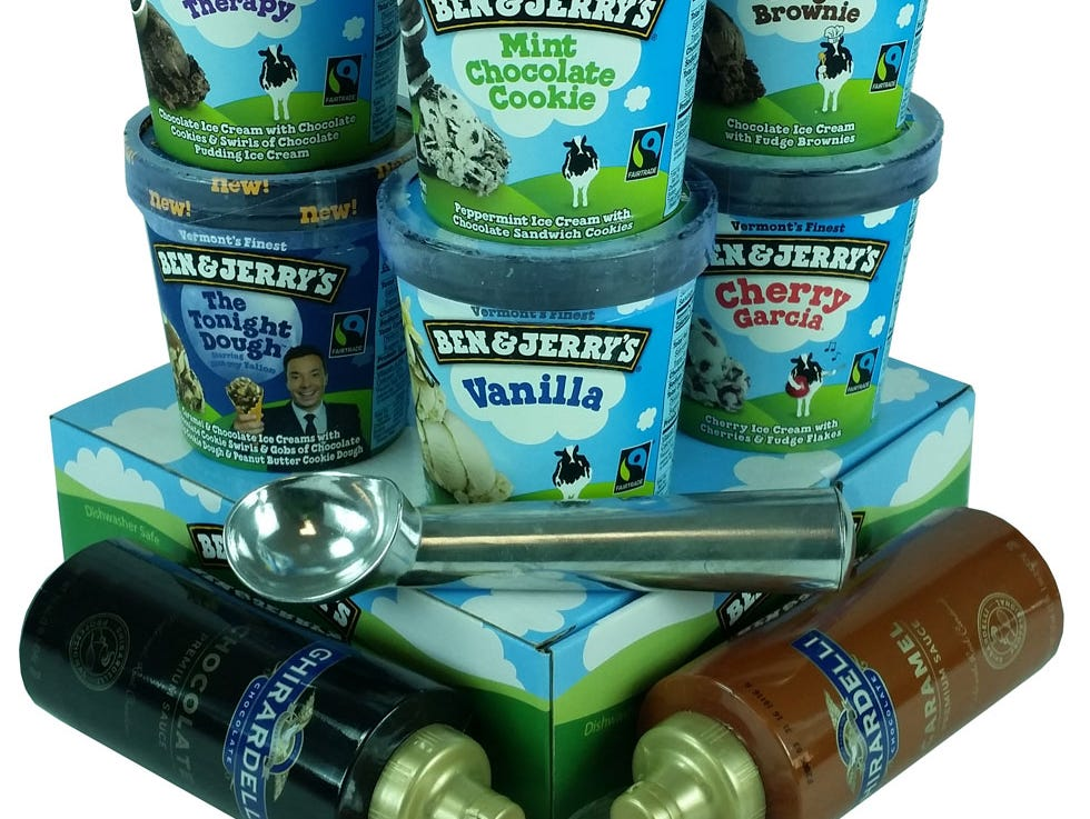 You scream, I scream... Insiders can enter to win a Ben & Jerry's party pack 7/10-7/31.