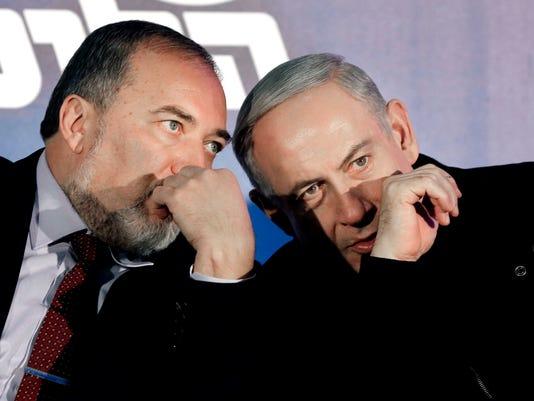 AP MIDEAST ISRAEL PALESTINIANS I FILE ISR