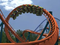 Rougarou, Cedar Point's newest coaster, opens May 9.