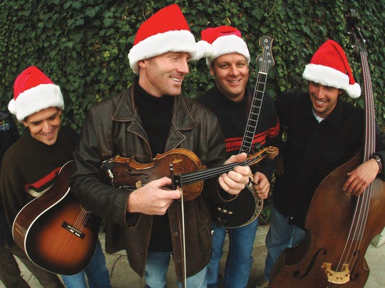 Ryan Shupe and the RubberBand will offer their bluegrass takes on Christmas classics as well as performing some of their own music during their Dec. 17 concert in St. George.