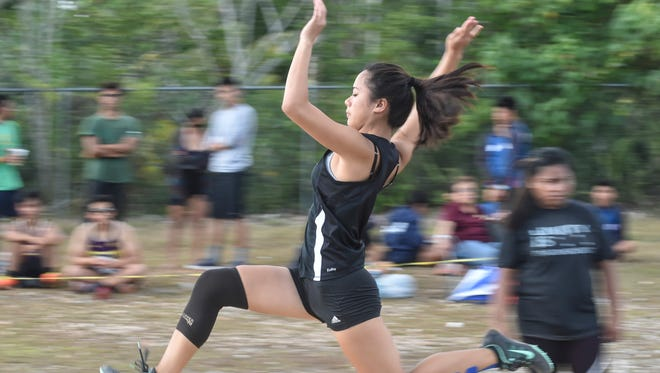 The Independent Instercholastic Athletic Association of Guam Track Meet took place at Okkodo High School field on April 29.