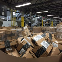 Inside a robot-driven Amazon fulfillment center