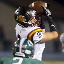 Tight end Jared Welsch of West Allis Central caught three touchdown passes, including the game-winner, in a 21-17 victory over Menomonee Falls on Sept. 23..