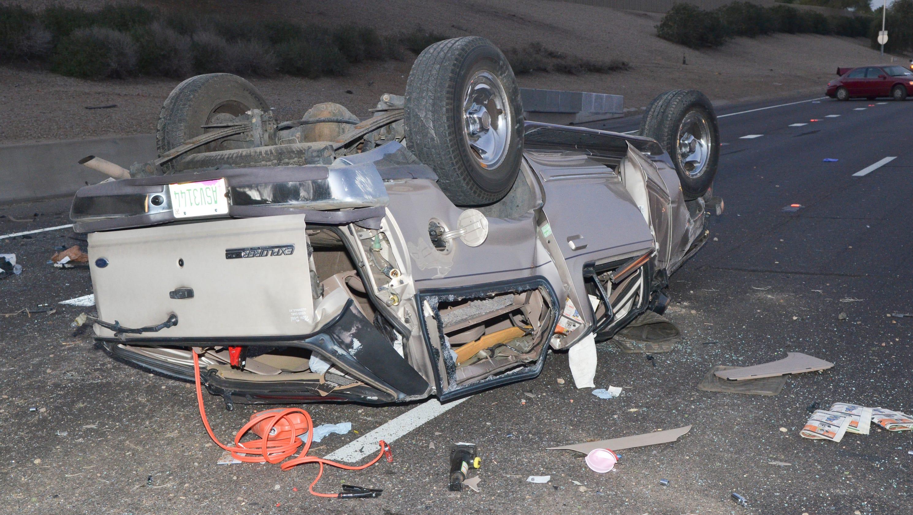 DPS identifies 2 killed in wrong-way crash in southeast Phoenix