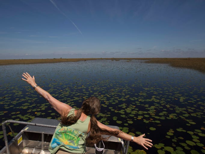 Lake okeechobee water crisis southern flow not a silver for Lake okeechobee fish camps