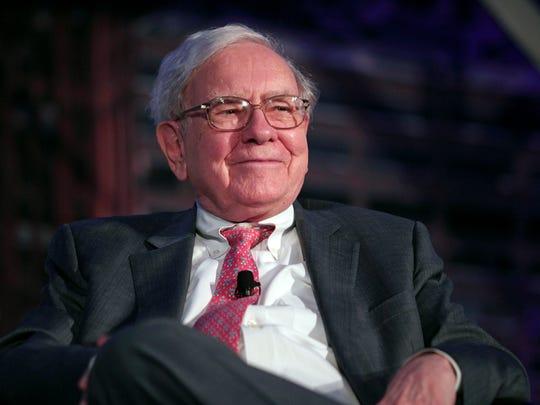Warren Buffett  is the third wealthiest person in the