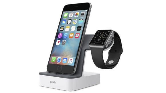 Belkin phone and watch stand
