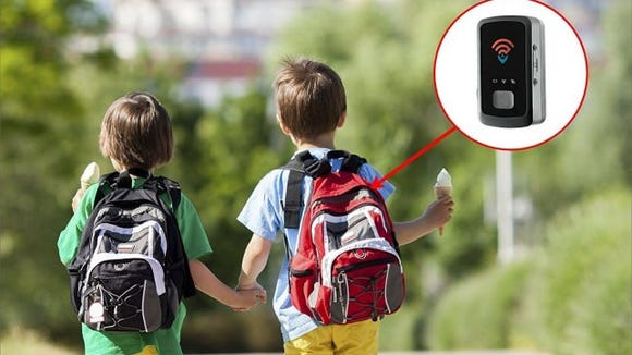Monitor your kids remotely as they make their way around the block