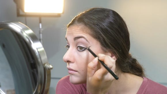 Tip: Start your bottom liner a bit below the lash line to give the appearance of a bigger eye.