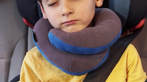 Kids will fall asleep fast with this comfy pillow.
