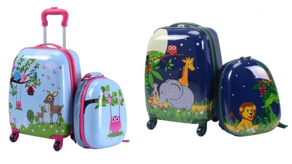 Get your kids their own luggage!