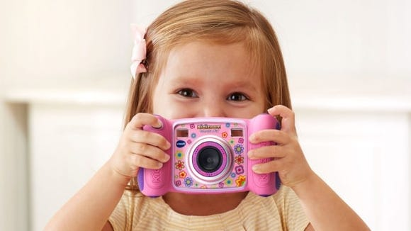 Let kids capture memories with this digital camera.