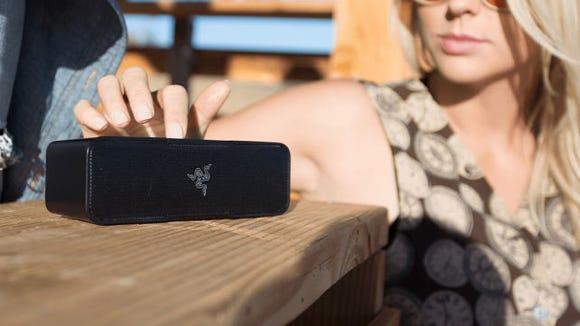 Some people cannot live without their music, and for them, there's this speaker.
