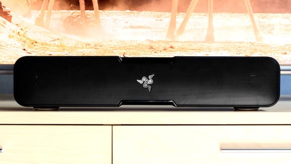 Jazz up any game, TV show, or movie with a soundbar that delivers near-surround sound quality.