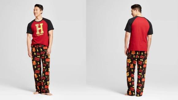 Men's Harry Potter Logo Pajama Set