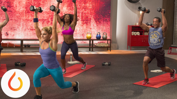 Skip the crowded gyms and get your sweat on at home.