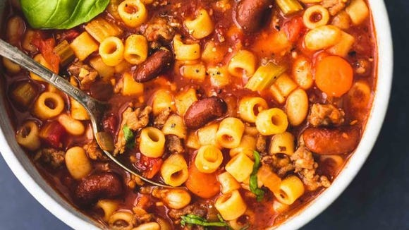 Pinterest users love this hearty soup.