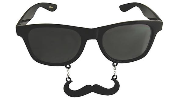 Sun-Staches Handlebar Sunglasses