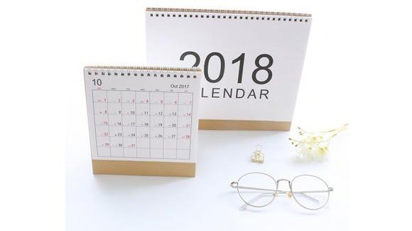 Tong Yue Mini Desk Calendar
