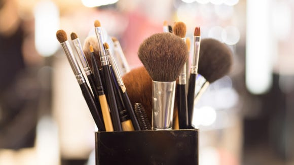 You should wash your makeup brushes once a week.