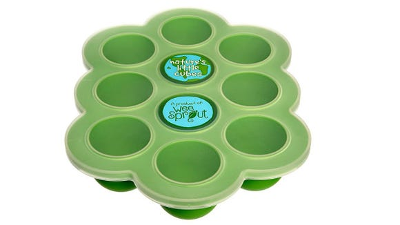 My wife and I loved this freezer food tray from WeeSprout.