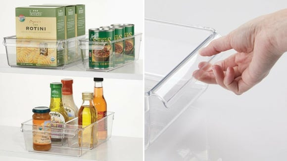 The clear, unfussy way to organize your fridge.